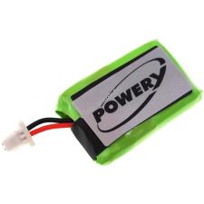 Powery Utángyártott akku Plantronics típus 86180-01 fejhallgató akkumulátor