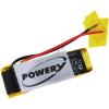 Powery Utángyártott akku Plantronics típus PA-PL002