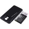 Powery Utángyártott akku Samsung SM-G900V fekete 5600mAh