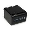 Powery Utángyártott akku Sony Videokamera DCR-PC120BT 4500mAh Antracit és LED kijelzős