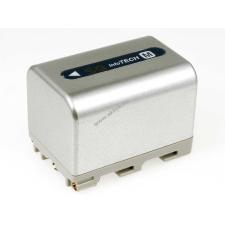 Powery Utángyártott akku Sony videokamera DCR-PC120E 3000mAh ezüst sony videókamera akkumulátor