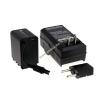 Powery Utángyártott akku videokamera JVC GZ-E10 (lapos csatlakozóval) +töltővel
