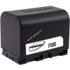 Powery Utángyártott akku videokamera JVC GZ-HM300SEU 3,6V 2670mAh Li-Ion fekete (info chip-es)
