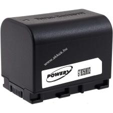 Powery Utángyártott akku videokamera JVC GZ-HM30BU 3,6V 2670mAh Li-Ion fekete (info chip-es) jvc videókamera akkumulátor