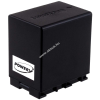 Powery Utángyártott akku videokamera JVC GZ-HM670BUS 4450mAh (info chip-es)
