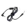 PRC Táp dugó, 5,5*2,5*14mm, szerelhető vég kábel,  KOM0263