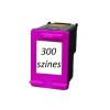 Prémium Hp 300 színes utángyártott tintapatron (Hp CC643EE)