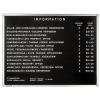 Premium információs tábla (több méretben)