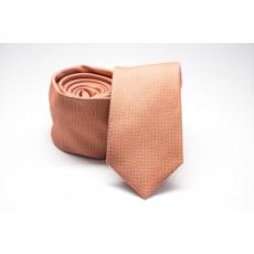 Prémium slim nyakkendõ - Barack mintás