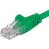 PremiumCord Patch UTP Kábel CAT6, 2m, Zöld