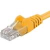 PremiumCord Patch UTP Kábel CAT6, 7m, Sárga