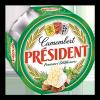 President Camembert sajt 120 g zöldfűszeres
