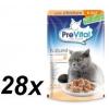 PreVital NATUREL párold csirke filé zselében 28 x 85 g
