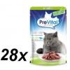 PreVital NATUREL Sterile tasak lazaccal, mártásban 28 x 85 g