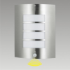 Prezent 61016 - MEMPHIS szenzoros kültéri lámpa 1xE27/60W rozsdamentes acél IP44