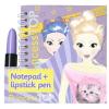 - PRINCESS TOP - NOTEPAD + LIPSTICK PEN