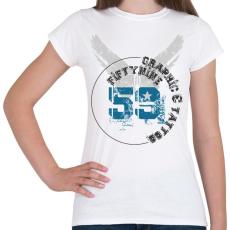 PRINTFASHION 59t&g-01.png - Női póló - Fehér