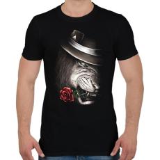 PRINTFASHION A bűvész - Férfi póló - Fekete