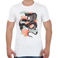 PRINTFASHION A kígyó legendája - Férfi póló - Fehér