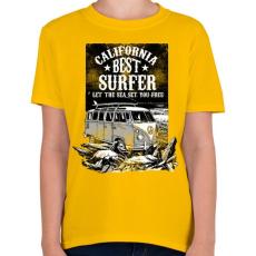 PRINTFASHION A tenger felszabadít  - Gyerek póló - Sárga