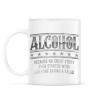 PRINTFASHION Alcohol - Bögre - Fehér