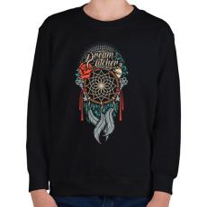 PRINTFASHION Álomcsapda - Gyerek pulóver - Fekete