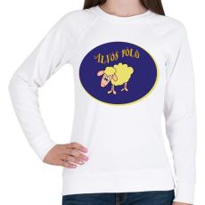 PRINTFASHION Alvós póló - Női pulóver - Fehér