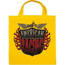 PRINTFASHION Amerikai verseny - Vászontáska - Sárga