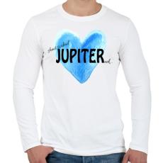 PRINTFASHION Amit szabad Jupiternek... - Férfi hosszú ujjú póló - Fehér
