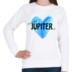 PRINTFASHION Amit szabad Jupiternek... - Női pulóver - Fehér