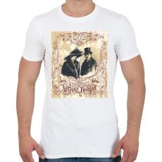 PRINTFASHION Antik divat - Férfi póló - Fehér