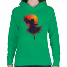 PRINTFASHION Aratás - Női kapucnis pulóver - Zöld