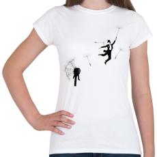 PRINTFASHION Aurevoir - Női póló - Fehér