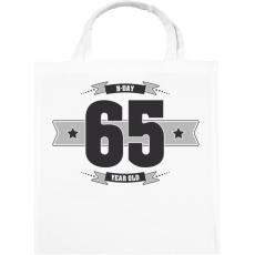 PRINTFASHION b-day-65-dark-lightgrey - Vászontáska - Fehér