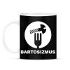 PRINTFASHION Bartosizmus - fehér - Bögre - Fekete