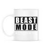 PRINTFASHION Beast Mode Activated - Bögre - Fehér