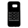 PRINTFASHION Bicikli - Telefontok - Fekete hátlap