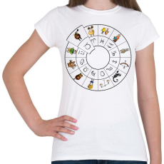 PRINTFASHION Bika - Női póló - Fehér