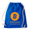 PRINTFASHION Bitcoin elfogadó - Sportzsák, Tornazsák - Bright royal