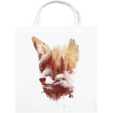 PRINTFASHION Blind fox - Vászontáska - Fehér