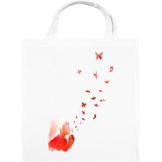 PRINTFASHION Blowing butterflies - Vászontáska - Fehér