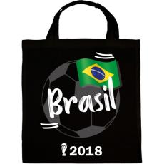 PRINTFASHION Brazília - Vászontáska - Fekete
