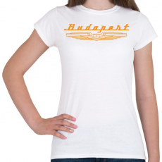PRINTFASHION budapest-ikarus-orange - Női póló - Fehér