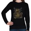 PRINTFASHION Búvár polip - Női pulóver - Fekete