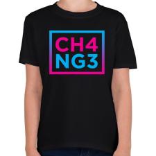PRINTFASHION CHANGE - Gyerek póló - Fekete gyerek póló