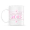 PRINTFASHION csillag-2015-pink - Bögre - Fehér