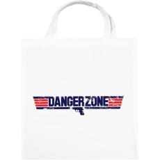 PRINTFASHION Danger Zone - Vászontáska - Fehér