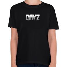 PRINTFASHION Dayz - Gyerek póló - Fekete