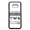 PRINTFASHION Decemberben születtem de minden hónapban egészségesen élek - Telefontok - Fehér hátlap