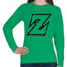 PRINTFASHION Dragonball Z - Női pulóver - Zöld